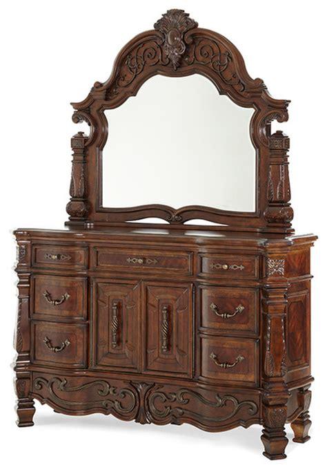 victorian bedroom vanity dresser mirror vintage fruitwood finish victorian