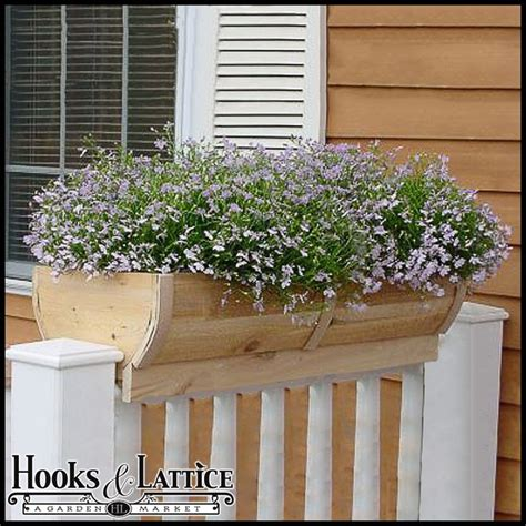 Deck Railing Planter Hooks by 1000 Images About Garden Containers Deck Railing On