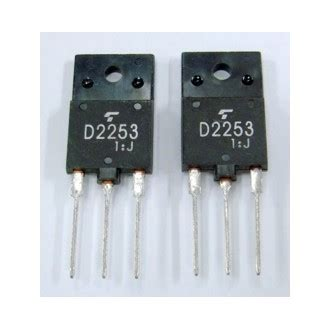 horizontal output transistor function 2sd2253 transistor horizontal output npn atvpartselectronique
