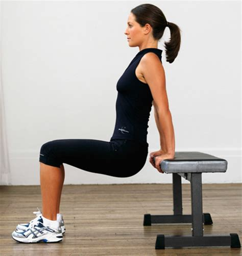 dips bench top 10 dips exercises
