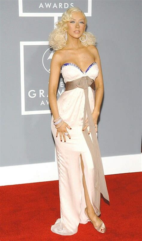 49th Annual Grammy Awards Mega Picture Post by Aguilera Carpet Looks And Carpets On