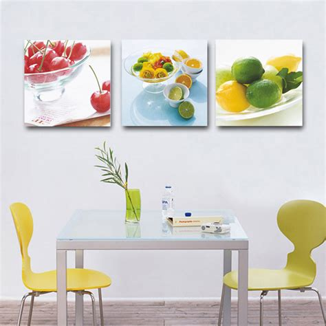 fruit home decor modern home decor kitchen decorative canvas fruit lemon