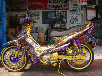 Lu Projie Untuk Jupiter Z sentuhan modif jupiterz warna cerah oto trendz