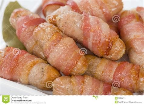 Traditional Pigs In A Blanket by Pigs In Blankets Stock Image Image 35255211