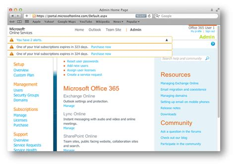 Office 365 Portal Mac Office 365 With Mac Os X Microsoft Office 2011 And