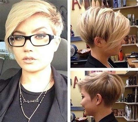 trendy short hairstyles for 2015 instagram 12 freche kurzhaarfrisuren f 252 r brillentr 228 gerinnen sind trendy