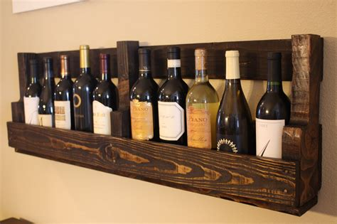Wine Shelf by Pallet Wine Rack Pallet Furniture Collection