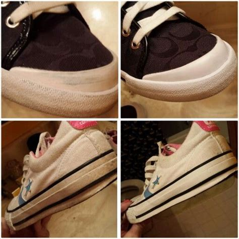 diy bottom shoes hack clean the bottom rubber of shoes with windex to