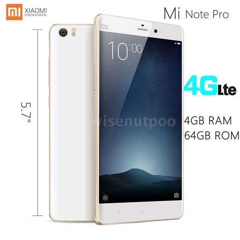 Xiaomi Mi Note Pro 4 64gb Gold xiaomi mi note pro 5 7 quot fhd 4g 4 ram 64gb snapdragon 810 unlocked smartphone ebay