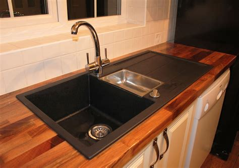 black sink white countertop decorating black blanco sinks and kitchen faucet on brown