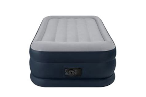 air mattress intex intex pillow rest rising comfort air mattress