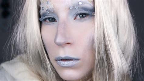 makeup tutorial snow queen snow queen makeup tutorial youtube
