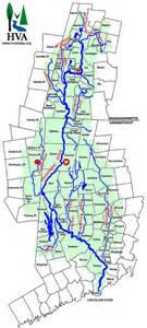 watershed map paddling tour highlights housatonic watershed new