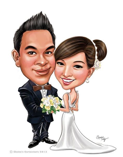 wedding invitations caricature drawings 23 best cards images on caricatures