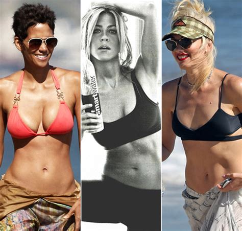 hollywood actress abs best abs in hollywood female celebrities and their