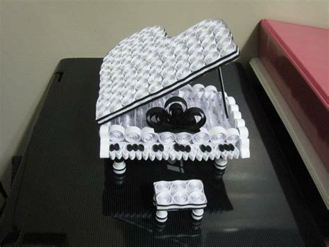 paper quilling piano tutorial 76 best images about quilling musica on pinterest
