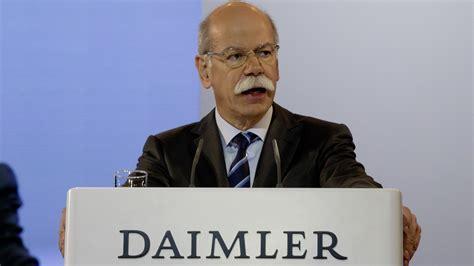 Bewerbungsgesprach Etwas Uber Sich Erzahlen Mobilit 228 T Der Zukunft Daimler Chef Zetsche Kann Sich Kooperation Mit Uber Vorstellen