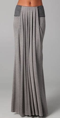 draped long skirt long draped skirt with leather trim mountains clothes