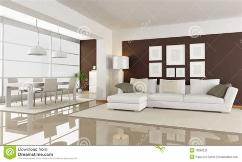 white brown living room white and brown living room royalty free stock photo image 18289225