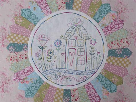 flowerville bom sew patch n quilt