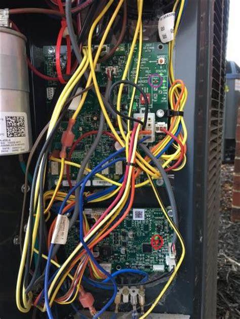 heat outside compressor not working fan not