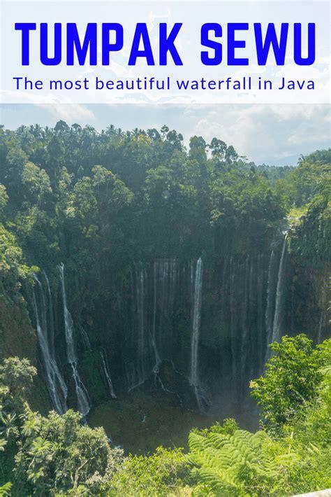 tumpak sewu amazing waterfall  east java