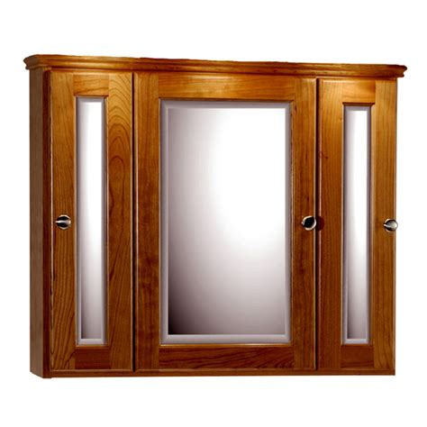 30 Medicine Cabinet by Medicine Cabinets 30 Inch Rounded Profile Tri View