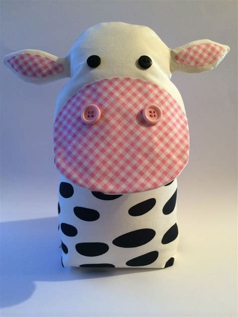 Handmade Door Stop - handmade cow door stop taken from page a