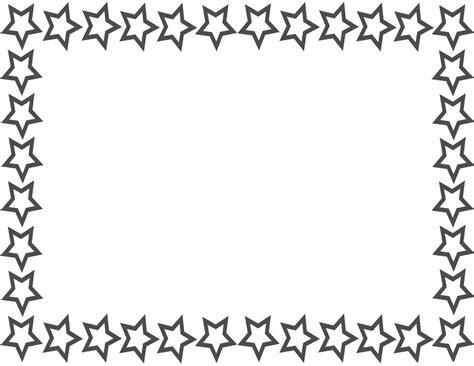 cornici da stare border page page frames star border