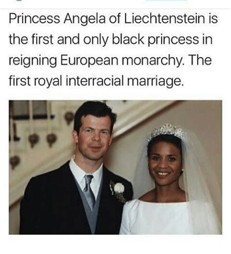 Interracial Relationship Memes - princess angela of liechtenstein is the first and only