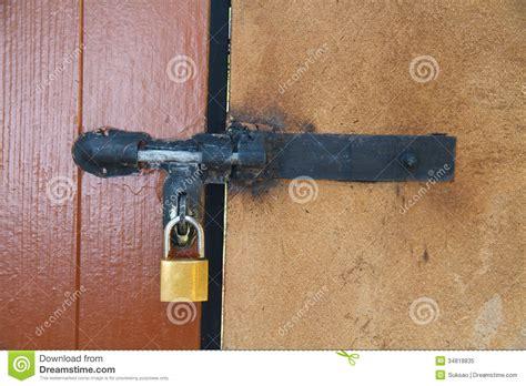 and lock the door lock the door stock image image of security