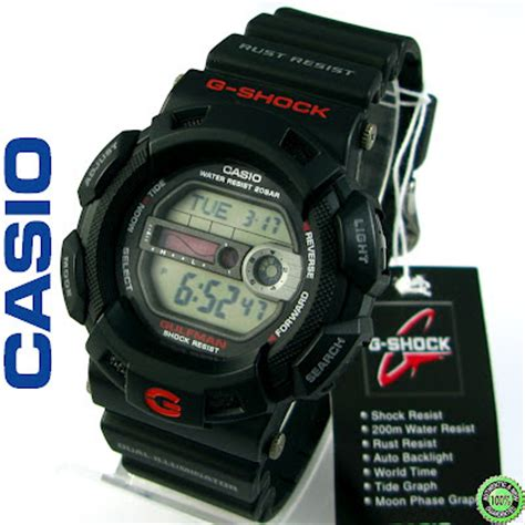 Casio G Shock Original G 9100 1dr jam tangan ori dan murah g shock gulfman g 9100 1d g