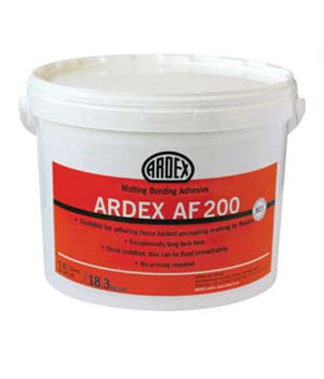 Ditra Matting Cost - ardex af200 matting bonding 15ltr the tile bin