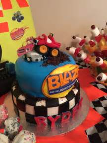 blaze monster machines cake birthday ideas cakes monsters jays