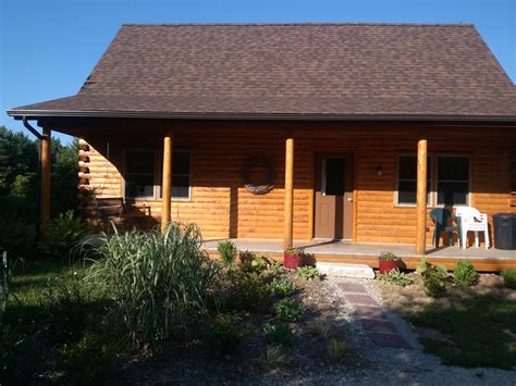 Brookville Lake Indiana Cabins by Log Cabin At Brookville Lake Vrbo
