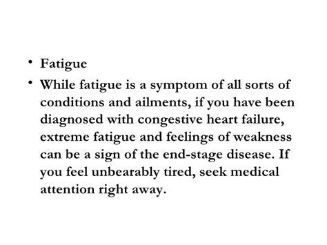 congestive failure stages stages of dying from congestive failure