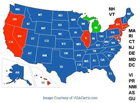 concealed carry reciprocity map ccw classes concealed carry reciprocity michigan cpl