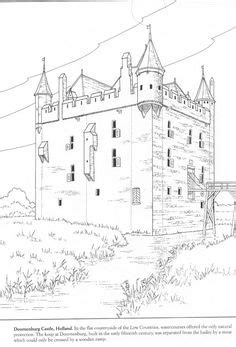 osaka castle coloring page medieval and celtic art unit study on pinterest middle