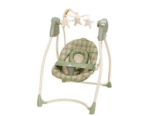 infant swing infant swing crib connection