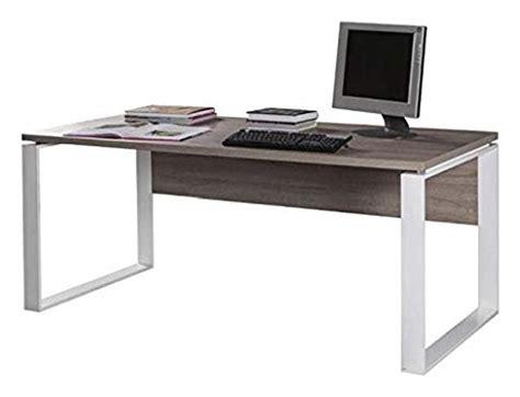 composad mobili composad scrivania 170x80x74 5cm rovere tartufo gambe