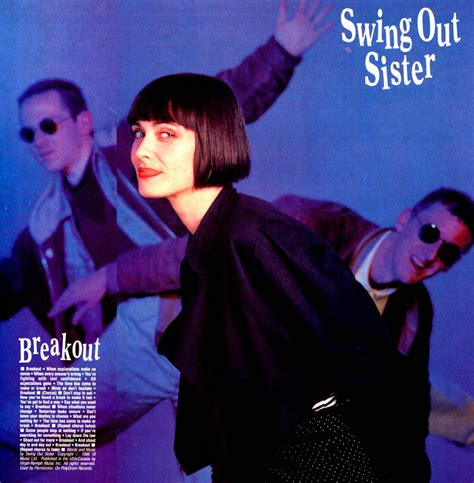 breakout swing out sister video lansure s music paraphernalia swing out sister press