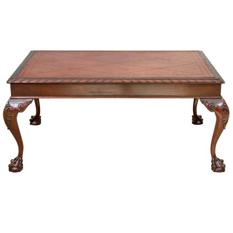 Chippendale Coffee Table Us Chippendale Style Coffee Table At 1stdibs