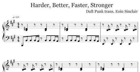 harder better faster stronger lyrics best 25 songs ideas on