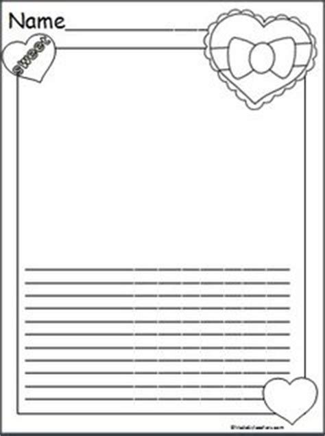 printable lined paper double sided this is a valentine s day panda writing template available
