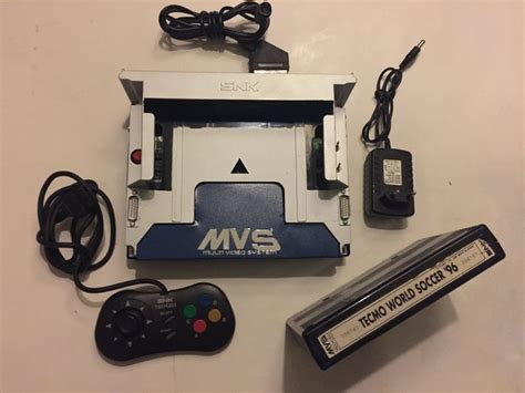 neo geo home console neo geo mvs home console including the quot temco