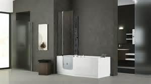 badewanne mit dusche integriert fishzero badewanne mit dusche integriert