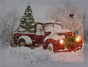 christmas tree pick up vintage pick up truck christmas tree nostalgic led lighted