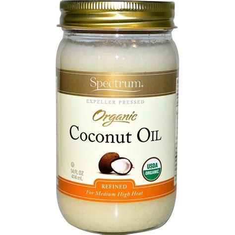 coconut skin spectrum naturals organic coconut 14 fl oz 414 ml iherb
