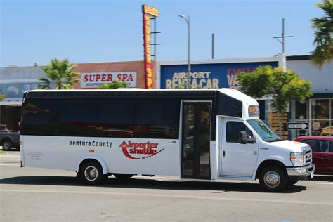 Airporter Shuttle by Ventura County Airporter Ameritrans Ford Minibus Airport