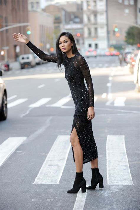 chanel iman home chanel iman leaving the roxy hotel in tribeca december 2016